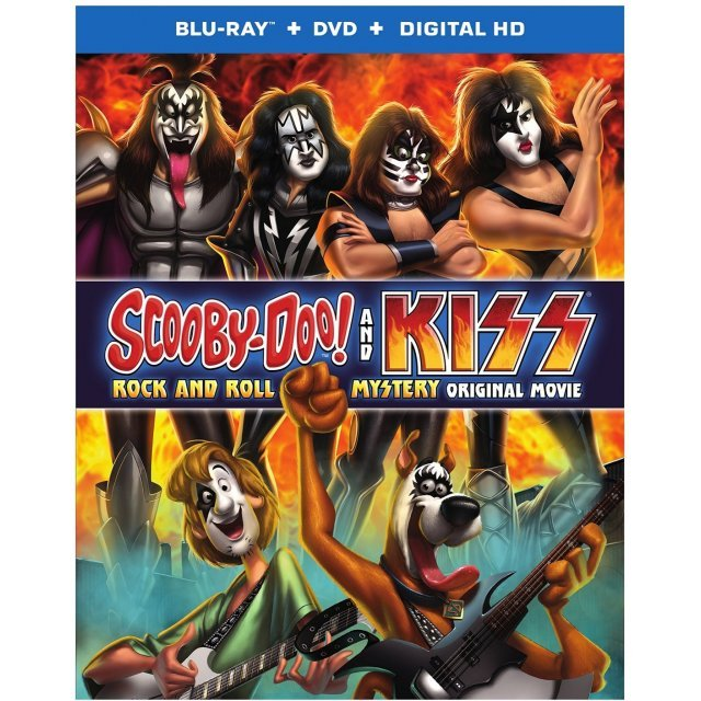 Scooby-Doo! and KISS: Rock and Roll Mystery [Blu-ray+DVD+UltraViolet]