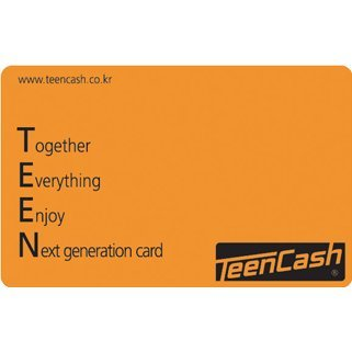 Teen Cash Card (10000 Won)
