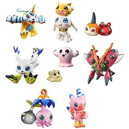 Digimon Adventure Digicolle! Data 2 (Set of 8 pieces) (Re-run)