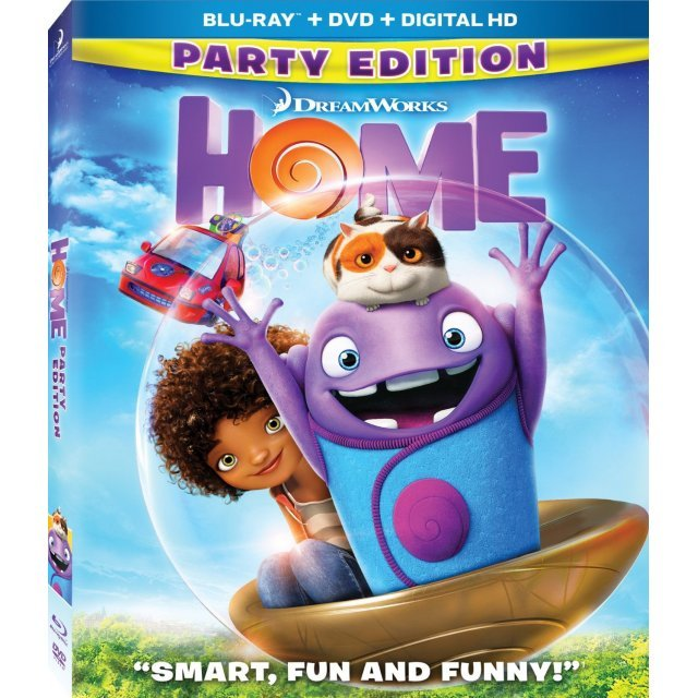 Home (Party Edition) [Blu-ray+DVD+UltraViolet]