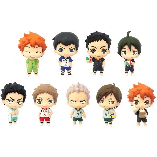 Color Collection Haikyu!! Vol. 3 (Set of 8 pieces)