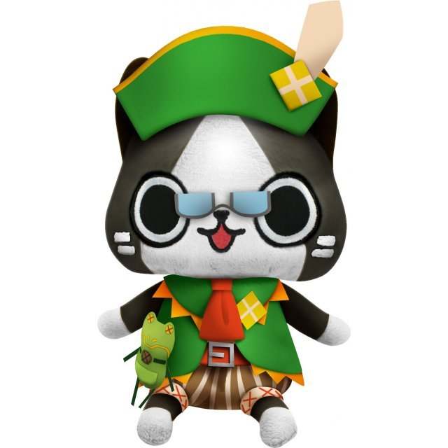Monster Hunter Diary Poka Poka Airou Village DX Airou Plush: Kanbanmusume