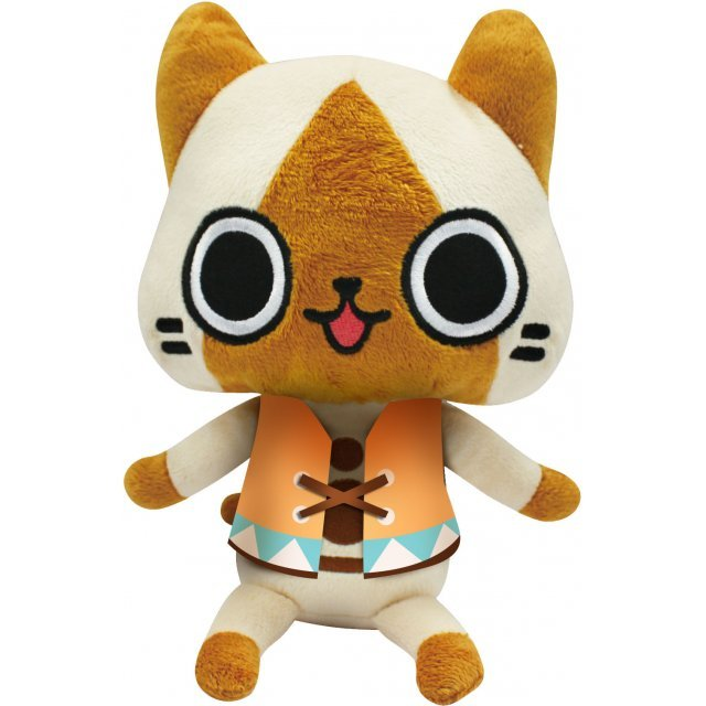 Monster Hunter Diary Poka Poka Airou Village DX Airou Plush L: My Airou