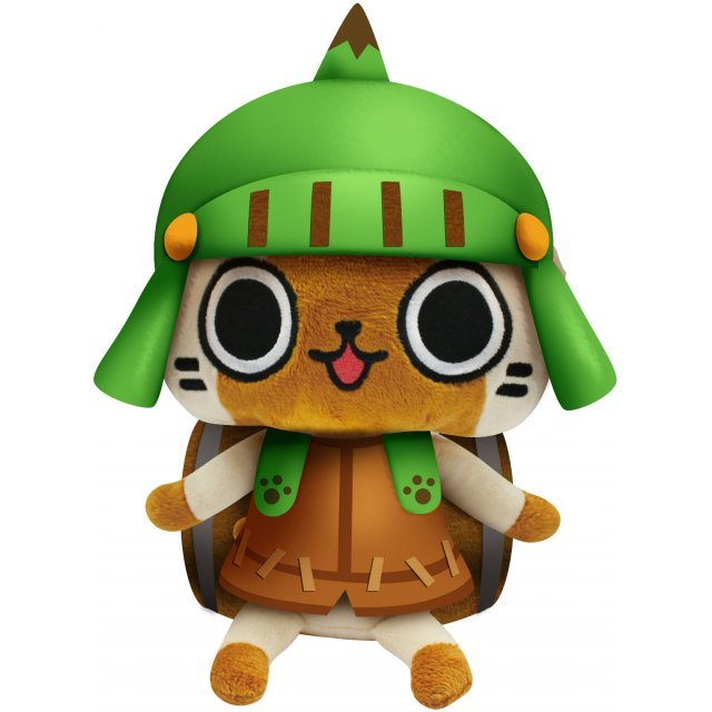 Monster Hunter Otomo Airou Plush: Dongurineko
