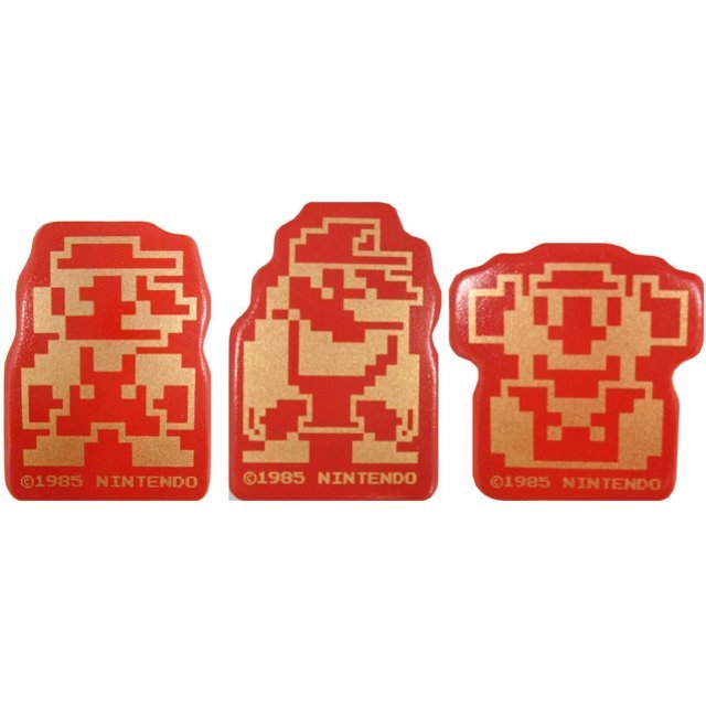 Super Mario Bros. Wooden Die-cut Clip D (Gold Set)