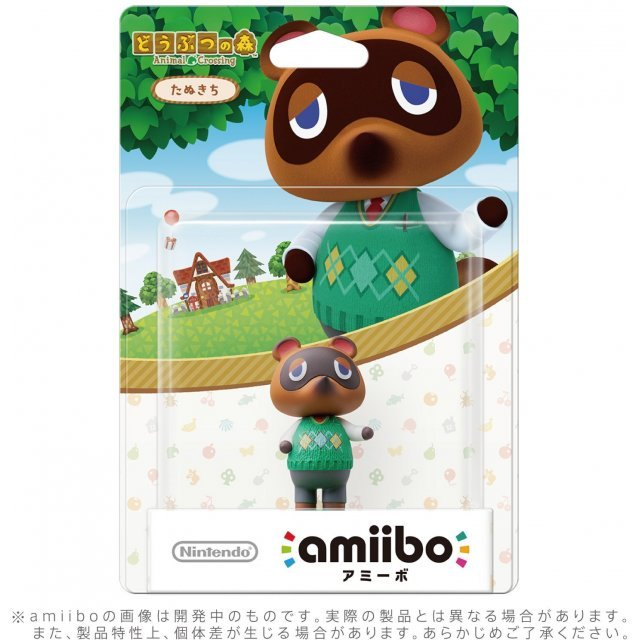 amiibo Animal Crossing Series Figure (Tanukichi)