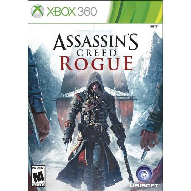 Assassin's Creed: Rogue (Damage on package cover case)
