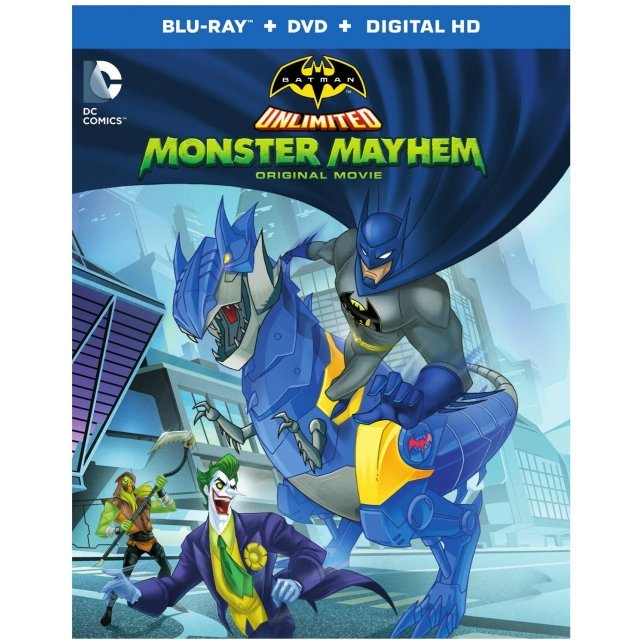 Batman Unlimited: Monster Mayhem [Blu-ray+DVD+UltraViolet]
