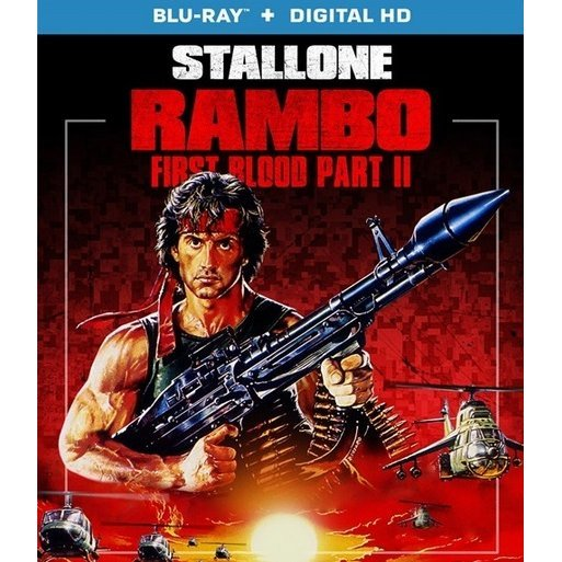 Rambo: First Blood Part II [Blu-ray+Digital Copy]