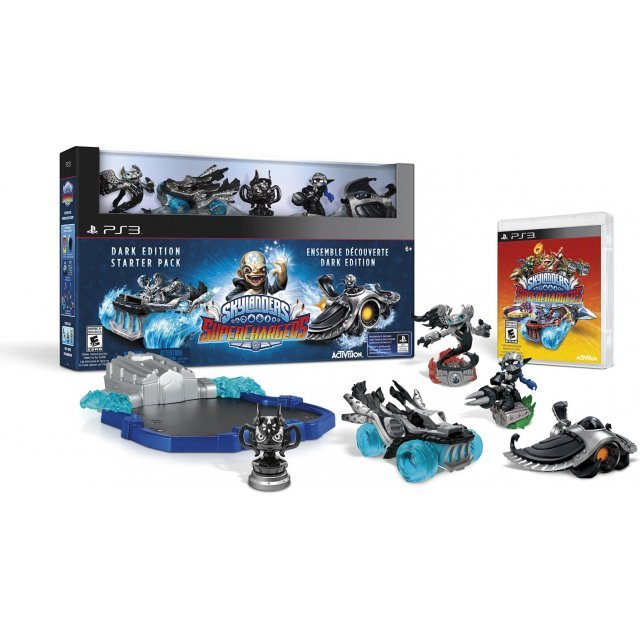 Skylanders SuperChargers (Dark Edition Starter Pack)