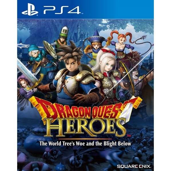 Dragon Quest Heroes: The World Tree's Woe and the Blight Below (English)