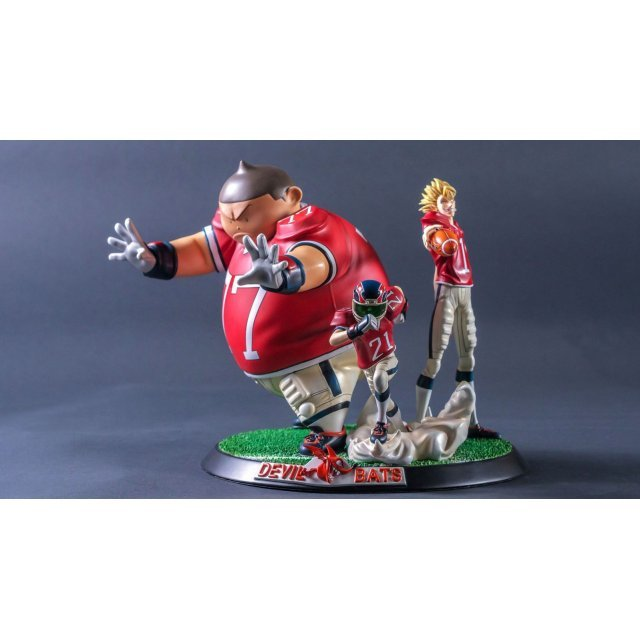 Eyeshield 21 High Quality Statue: Devil Bats