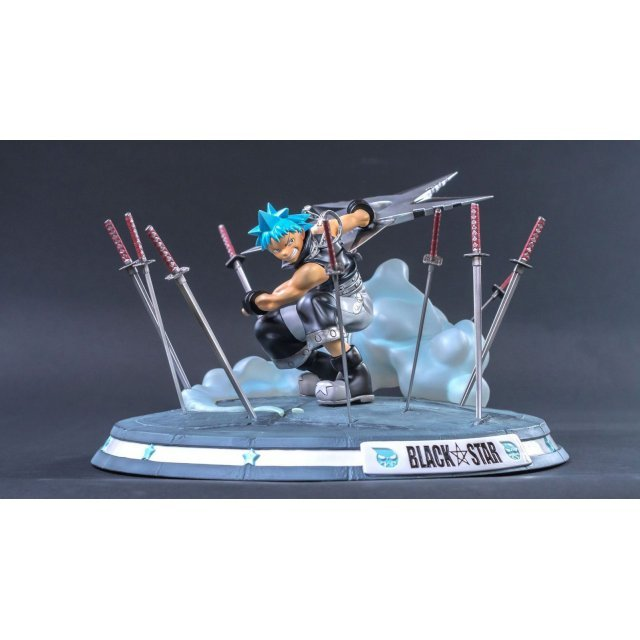 Soul Eater High Quality Statue: Black Star Counter Strikes