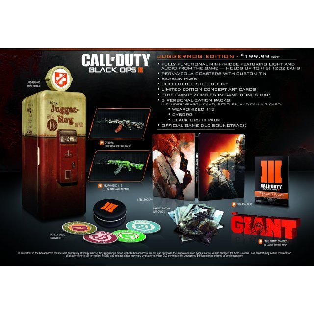 Call of Duty: Black Ops III (Juggernog Edition)