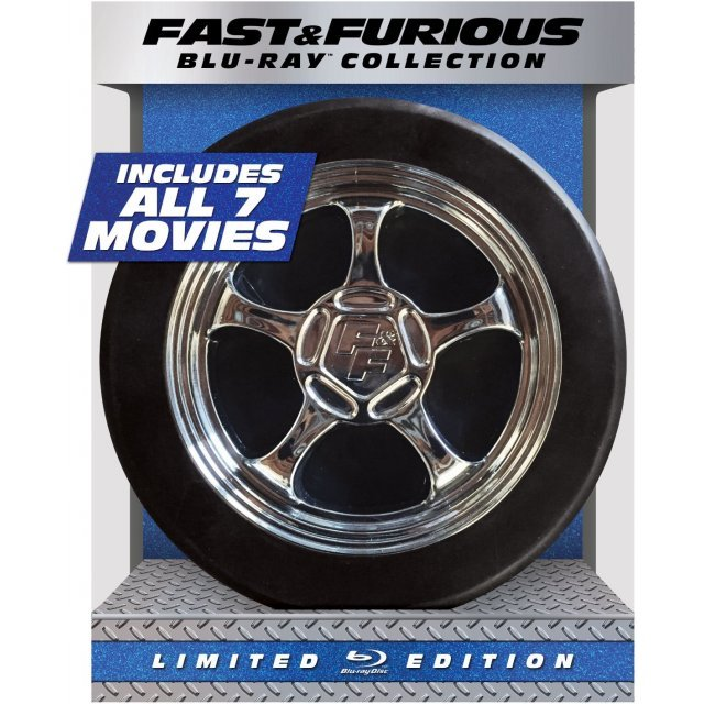 Fast & Furious 1-7 Collection (Limited Edition) [Blu-ray+UltraViolet]