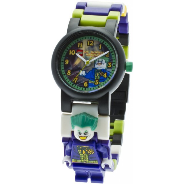 Lego DC Super Heroes Minifigure Link Watch: The Joker