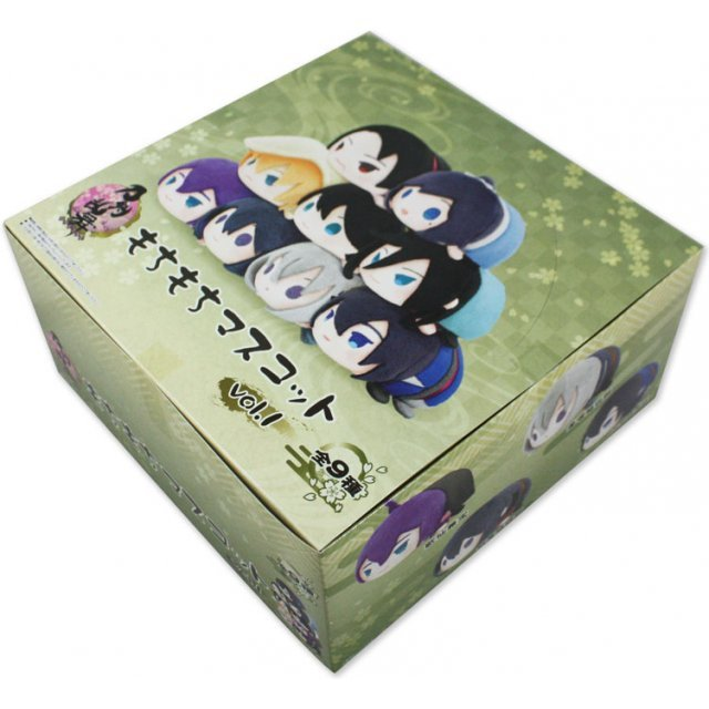 Mochimochi Mascot Touken Ranbu -Online- Vol. 1 (Set of 9 pieces)