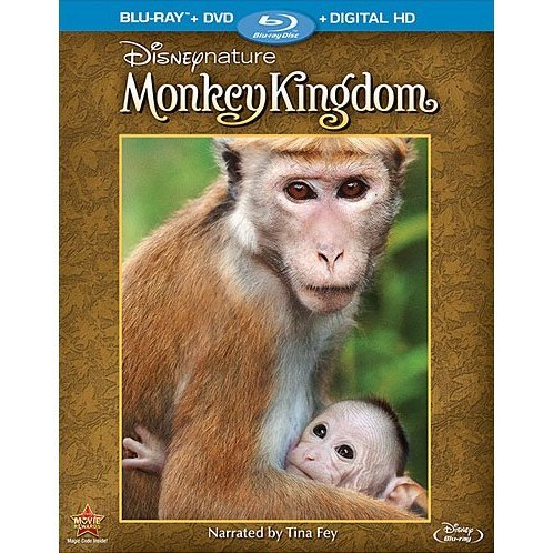 Monkey Kingdom [Blu-ray+DVD]