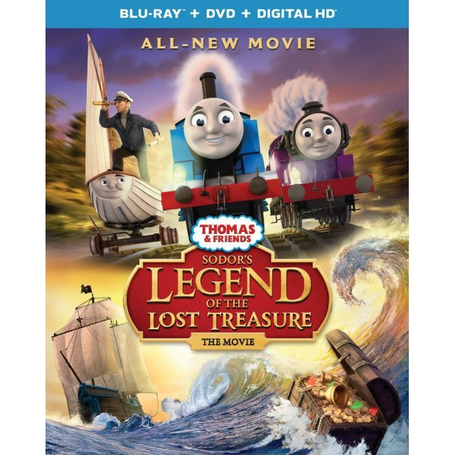 Thomas & Friends: Sodor's Legend of the Lost Treasure - The Movie [Blu-ray+Digital HD]