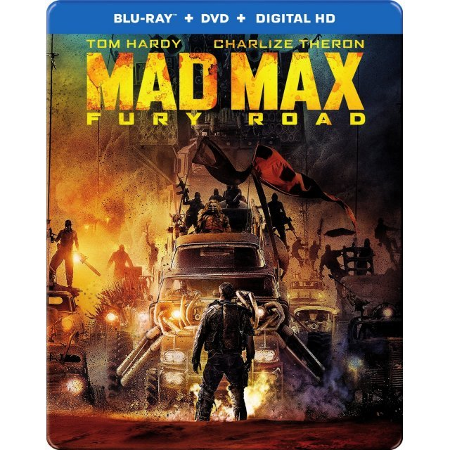 Mad Max: Fury Road [Blu-ray+DVD+UltraViolet]