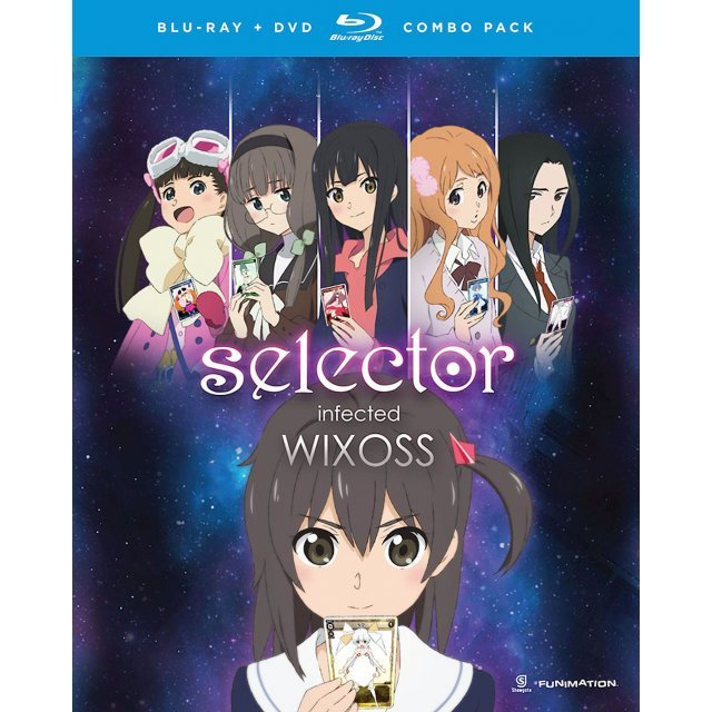 Selector Infected WIXOSS: The Complete Series [Blu-ray+DVD]