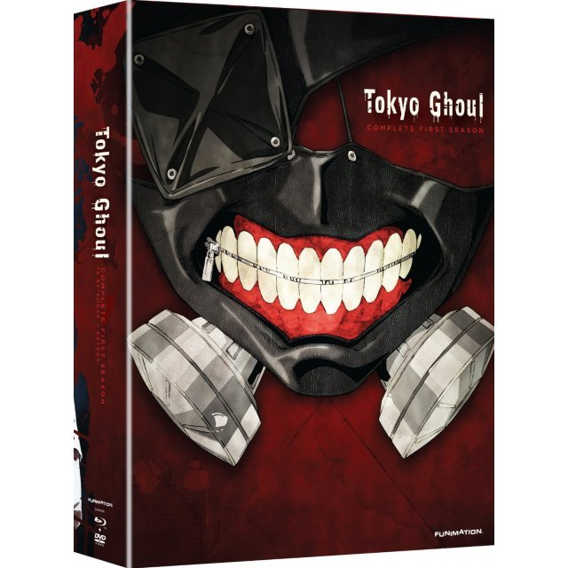 Tokyo Ghoul: The Complete Season 1 (Limited Edition) [Blu-ray+DVD]
