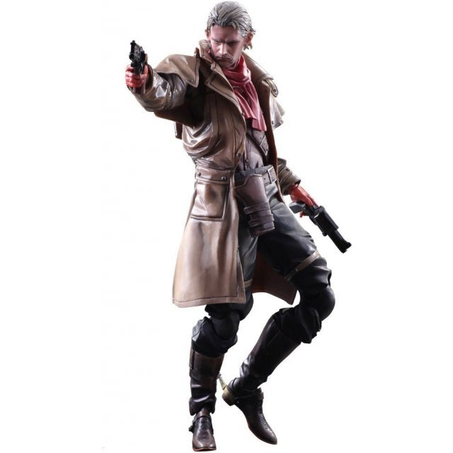 Metal Gear Solid V The Phantom Pain Play Arts Kai: Ocelot