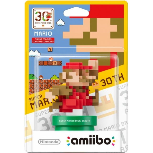 amiibo Super Mario Bros. 30th Series Figure (Mario Classic Color)