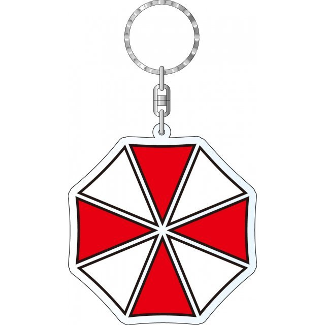 Biohazard Acrylic Key Ring: Umbrella