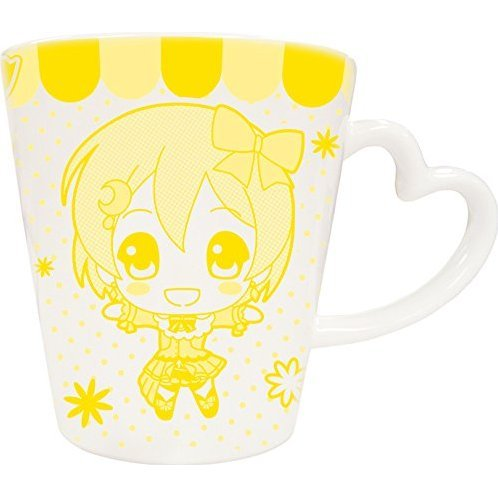Love Live! Heart Handle Mug: Hoshizora Rin