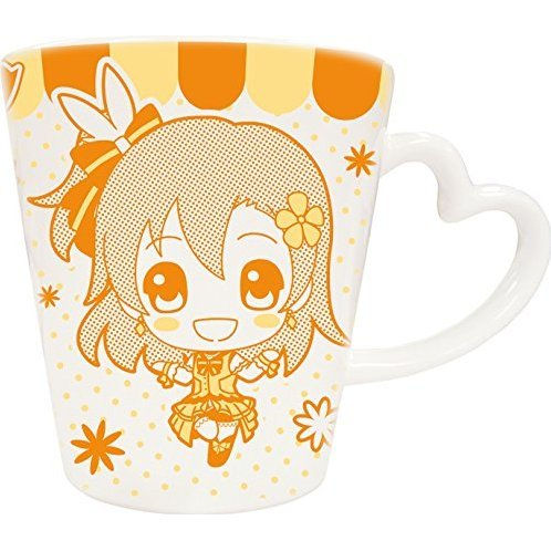 Love Live! Heart Handle Mug: Kousaka Honoka