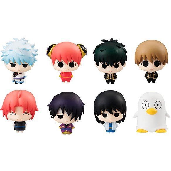 Chara Fortune Gintama: Ohisashiburi no Gintamamori Ver. (Set of 8 pieces)