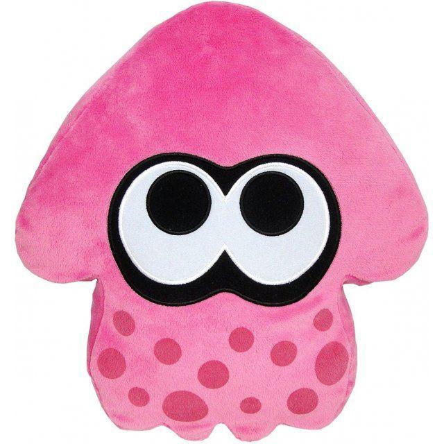 Splatoon Plush: Pink Splatoon Squid Cushion (Re-run)