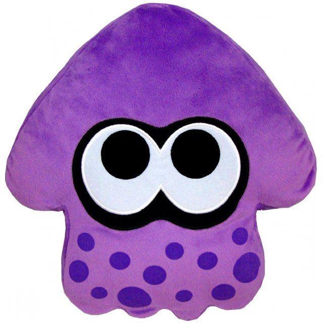 Splatoon Plush: Purple Splatoon Squid Cushion (Re-run)
