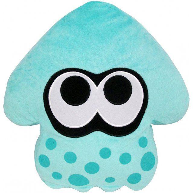 Splatoon Plush: Turquoise Splatoon Squid Cushion (Re-run)