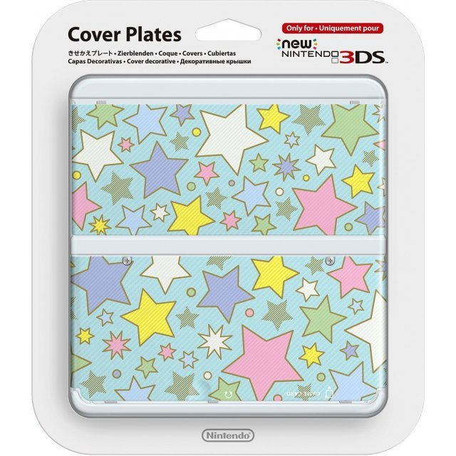 New Nintendo 3DS Cover Plates No.064 (Colorful Star)