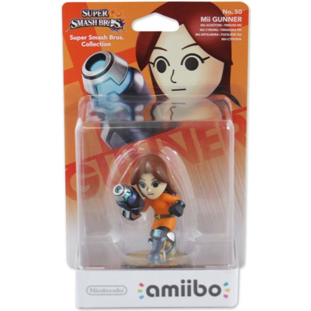 amiibo Super Smash Bros. Series Figure (Mii Gunner)