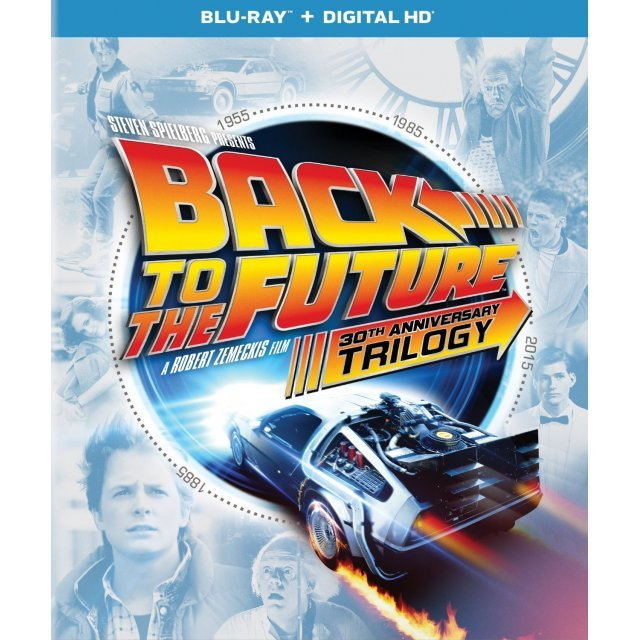 Back to the Future (30th Anniversary Trilogy) [Blu-ray+Digital HD]