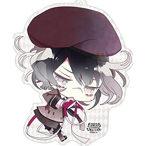 Diabolik Lovers Dark Fate Big Pass Case: Mukami Azusa