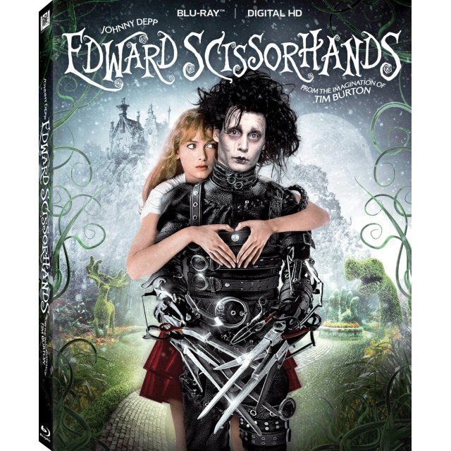 Edward Scissorhands (25th Anniversary Edition) [Blu-ray+Digital Copy]