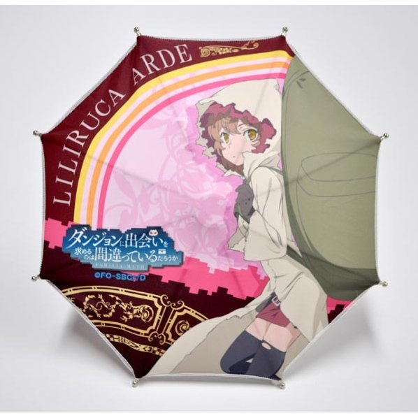 Is It Wrong to Try to Pick Up Girls in a Dungeon? Desktop Mini Umbrella: Liliruca Arde