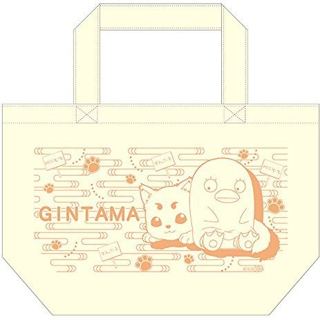 Gintama Mini Tote Bag: Sadaharu & Elizabeth