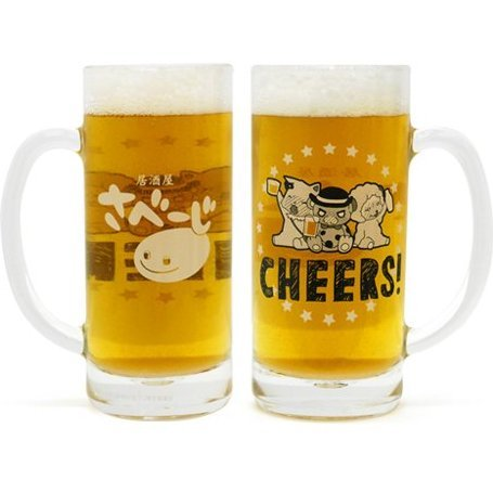 Amagi Brilliant Park Beer Mug of Moffle Toast Beer