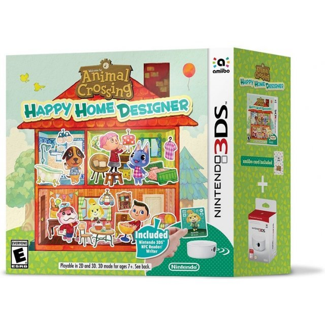 Animal Crossing: Happy Home Designer (NFC Reader Bundle)