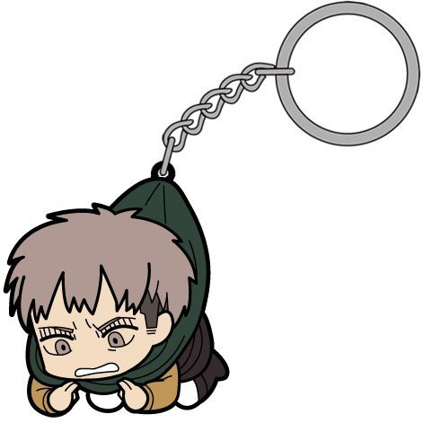 Attack on Titan Tsumamare Key Ring: Jean