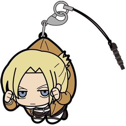 Attack on Titan Tsumamare Strap: Annie