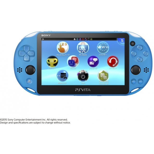 PS Vita PlayStation Vita New Slim Model - PCH-2000 (Aqua Blue)