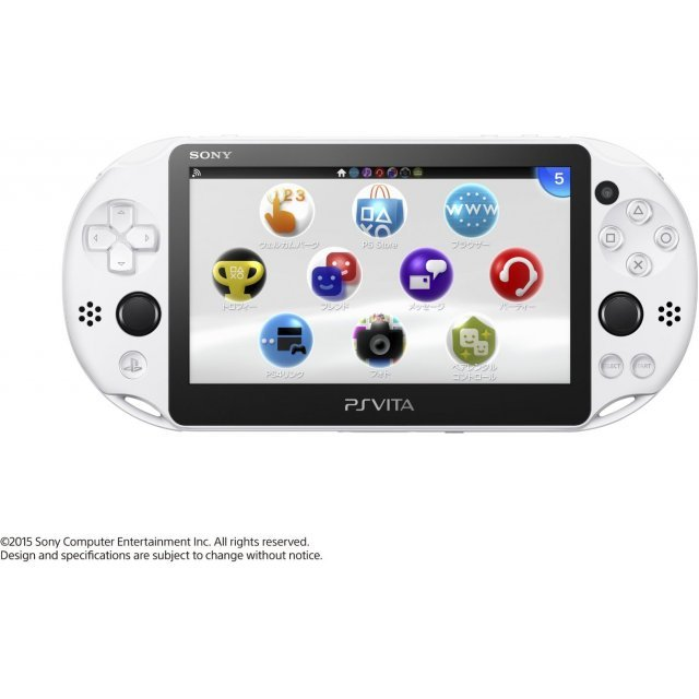 PS Vita PlayStation Vita New Slim Model - PCH-2000 (Glacier White)