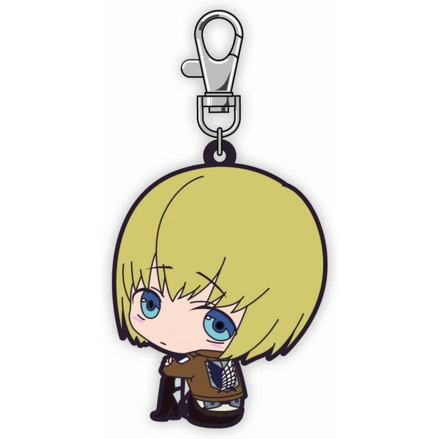 Attack on Titan Bocchi-kun Rubber Mascot: Armin