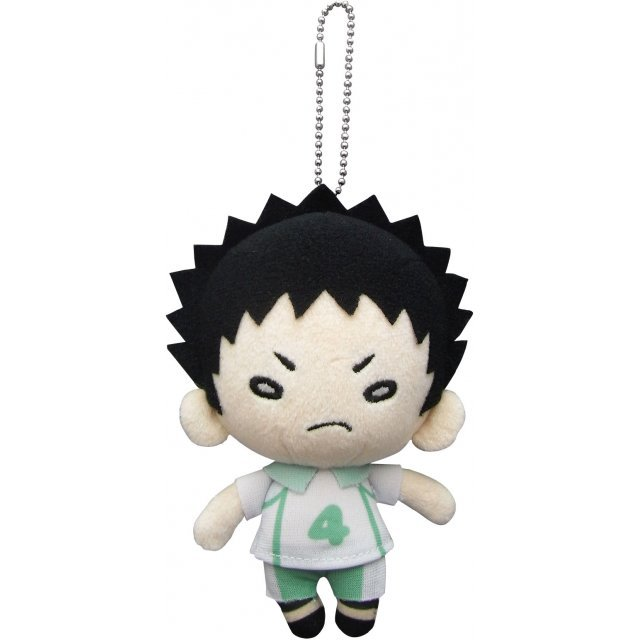 Haikyu!! Second Season Plush with Ball Chain: Iwaizumi